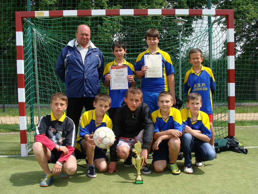 Gminny Turniej wPiłce Nożnej chłopców dla uczniów szkół podstawowych
