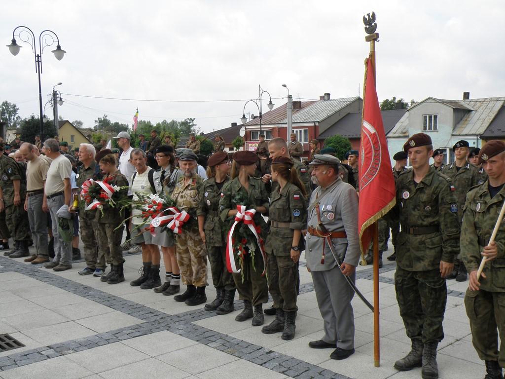 XLIX (34 po wojnie) Marsz Szlakiem IKopanii Kadrowej Kraków (Oleandry) – Kielce - zdjęcia