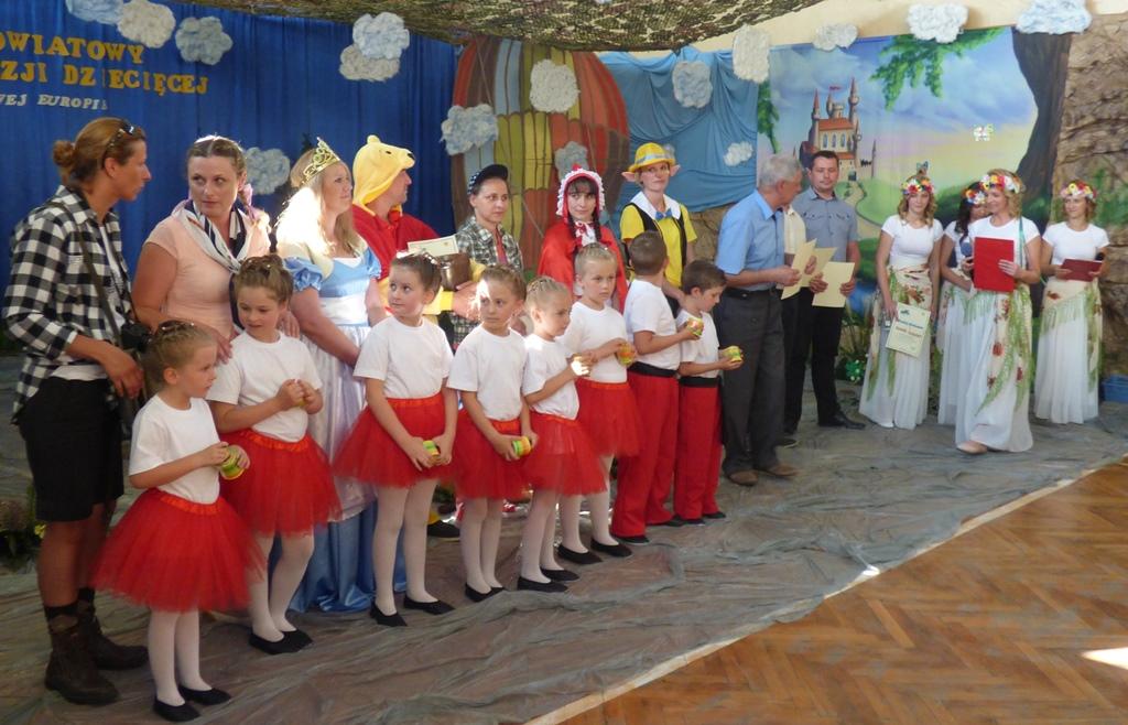 VI  Powiatowy Przegląd Poezji Dziecięcej dla Przedszkolaków